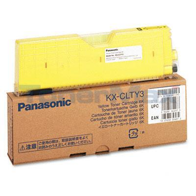 PANASONIC KX-CL400 TONER CARTRIDGE YELLOW 6K